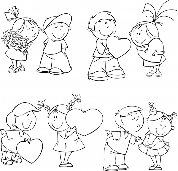 Kids free vector download (1,674 Free vector) for