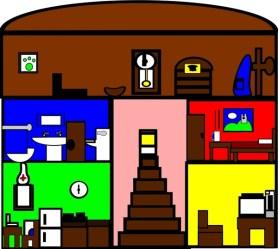 Casas por dentro animadas Imagui