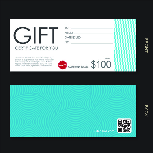 Gift Voucher Free Vector Download 2 932 Free Vector For