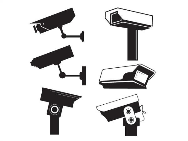 CCTV Camera Vector Graphics Free vector in Adobe