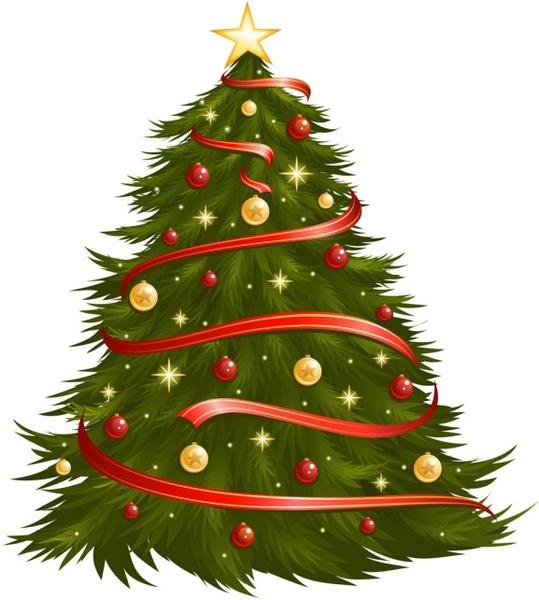 Circuit Board With Christmas Tree Vector Vector Christmas Free