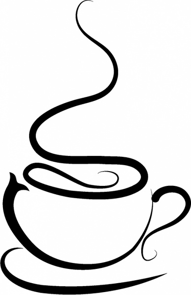 free clip art coffee cup vector