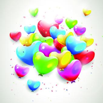 free happy birthday balloon clip