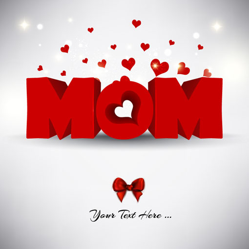 creative mother day design