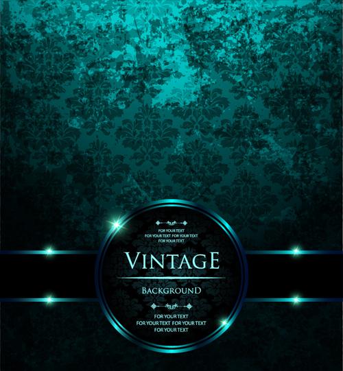 Dark Green Swirl Background Free Vector Download 54458