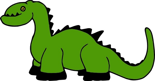 dinosaur cartoon clip art free
