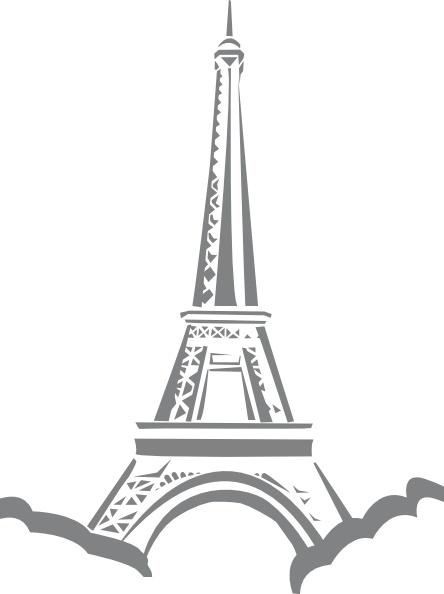 eiffel tower paris clip art free