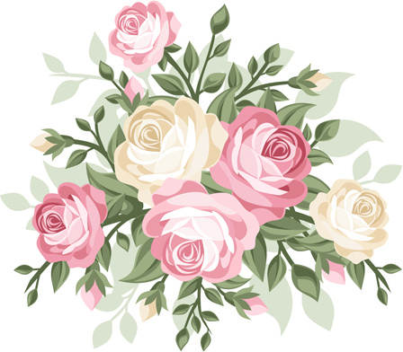 flower bouquet clip art free vector