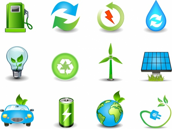 Green Energy Symbol Free Vector Download 24054 Free