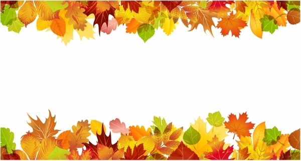 fall border free vector in adobe
