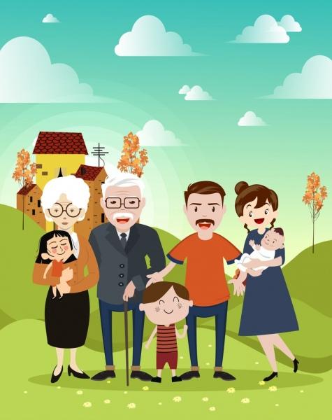 Family Background Images : family, background, images, Family, Background, Grandparents, Parents, Children, Icons, Cartoon, Characters, Vector, Adobe, Illustrator, Format,, Encapsulated, PostScript, Format, Download, 4.82MB