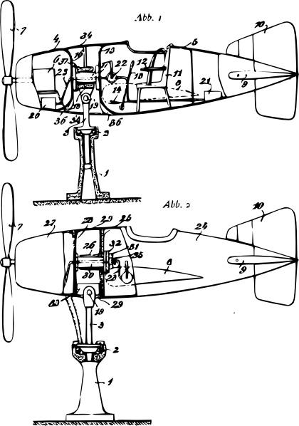 Flight Simulator Plane Plan clip art Free vector in Open