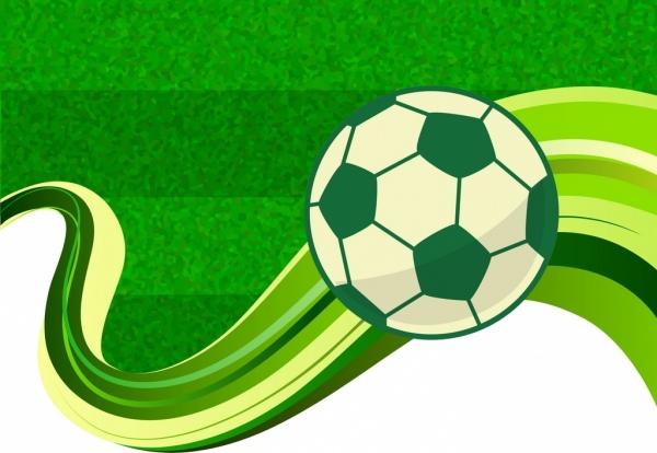 football background green field