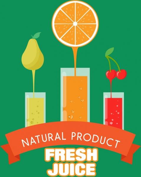 Banner Jus Buah : banner, Fresh, Juice, Banner, Various, Fruits, Color, Decoration, Vector, Adobe, Illustrator, Format,, Encapsulated, PostScript, Format, Download, 1.37MB