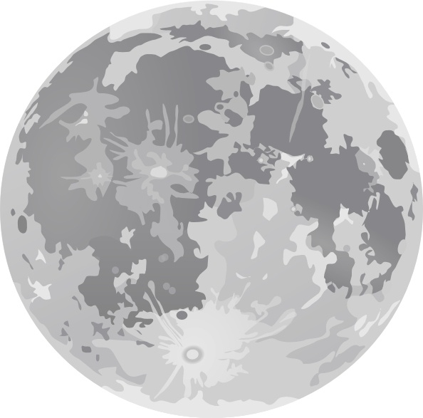 Full Moon Clip Art Free Vector In Open Office Drawing Svg