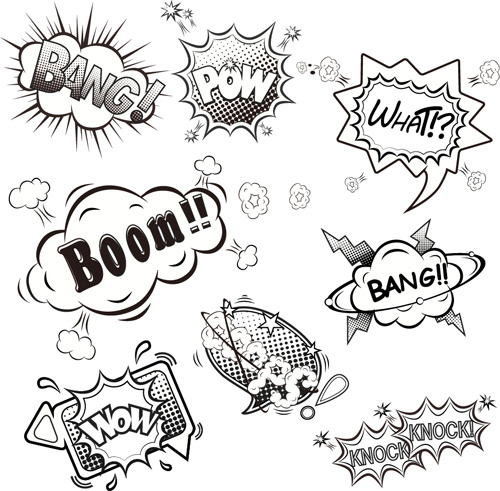Comic free vector download (714 Free vector) for