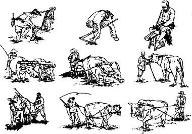 Hand drawn cartoon characters free vector download (21,500
