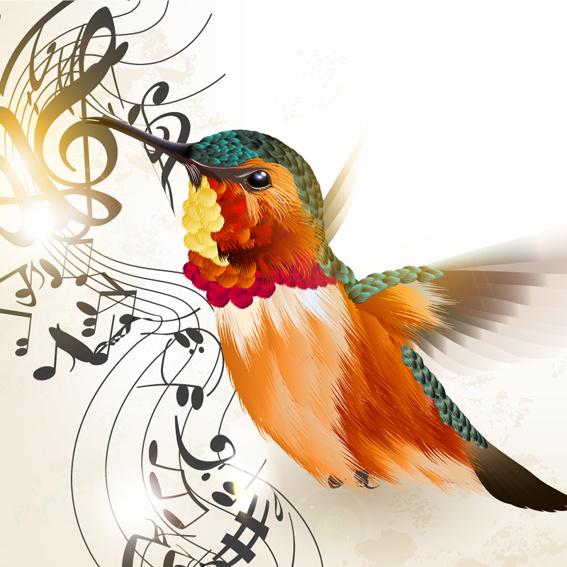 free printable hummingbird stencils