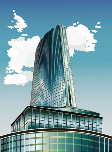 Building free vector download 1722 Free vector for