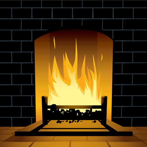 Fireplace Free Vector Download 34 Free Vector For