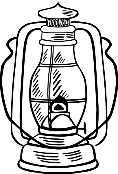 Hurricane Lamp clip art Free vector in Open office drawing