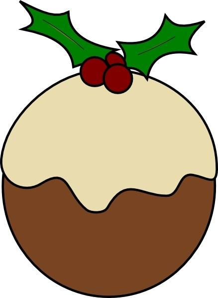 karderio christmas pudding clip