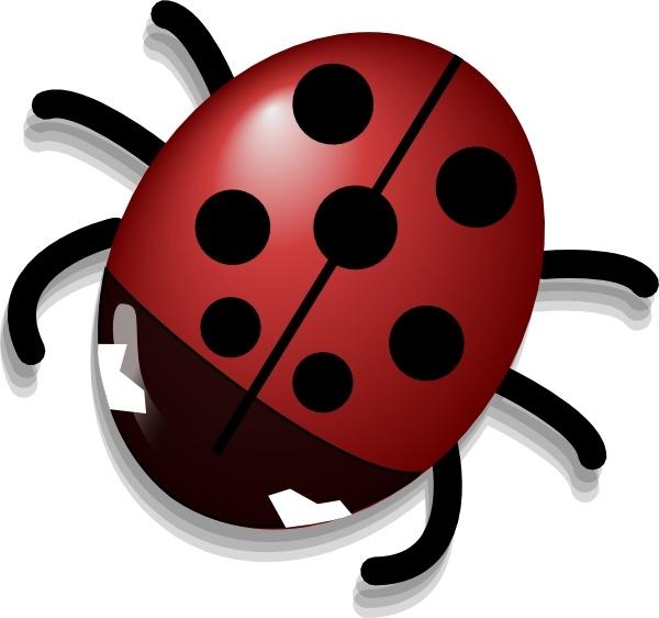 ladybug clip art free vector