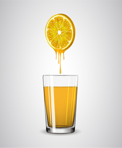 Lemon juice glass free vector download 2961 Free vector