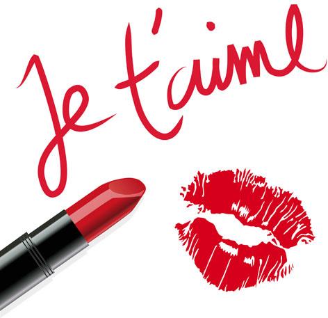 lipstick and lip vector