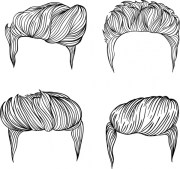 men hairstyles collection black