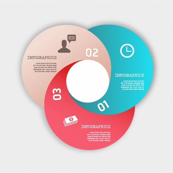 3d Origami Style Infographic Diagram Free Vector In Adobe Illustrator