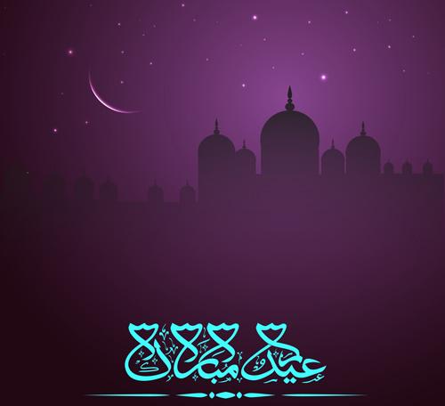 Islamic Girl Cartoon Wallpaper Eid Mubarak Free Vector Download 301 Free Vector For