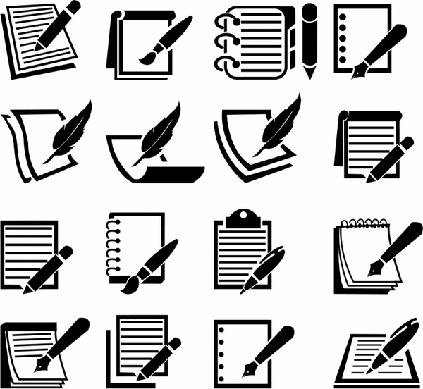 Notebook free vector download (525 Free vector) for