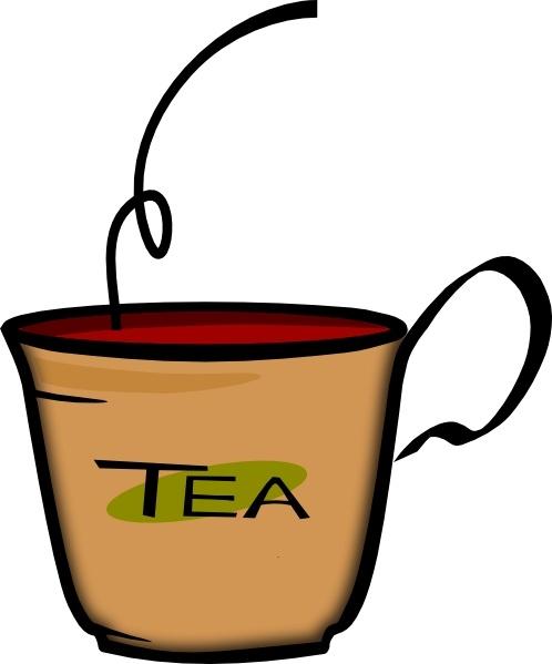 Printerkiller Cup Of Tea Clip Art Free Vector In Open