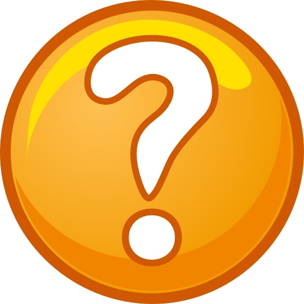 Question Mark clip art