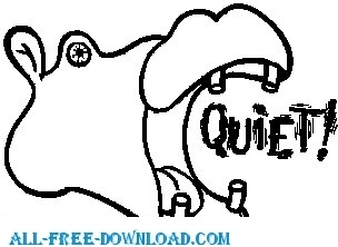 Keep quiet free vector download (89 Free vector) for