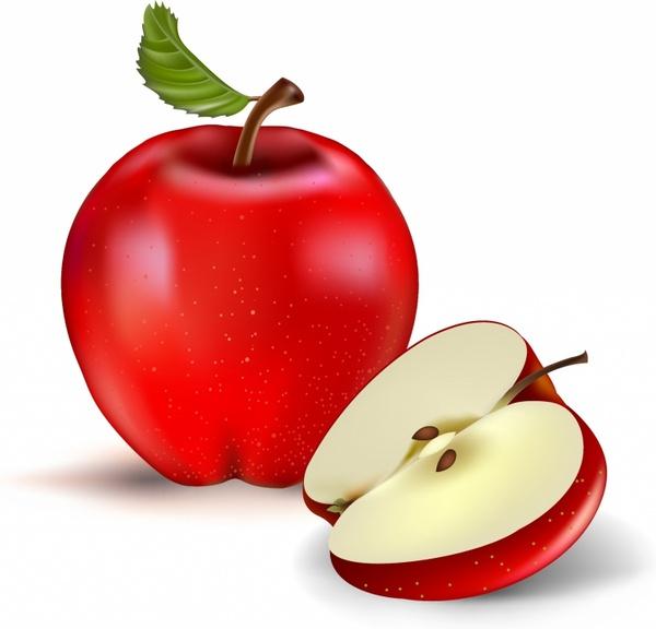 green apple free vector