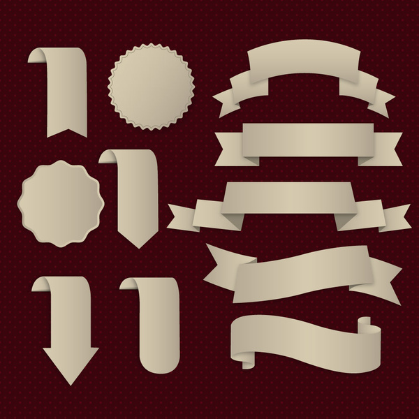 Round stamp template free vector download 16071 Free