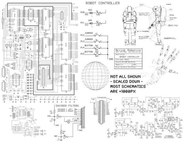 Schematics photoshop brushes in Photoshop brushes abr