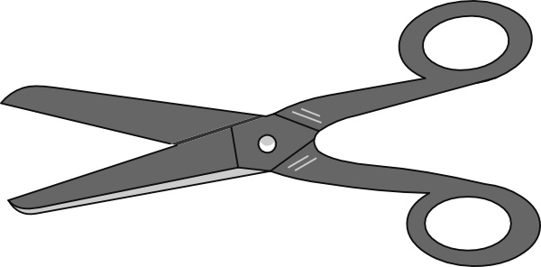 scissors clip art free