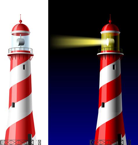 Lighthouse Silhouette Clip Art