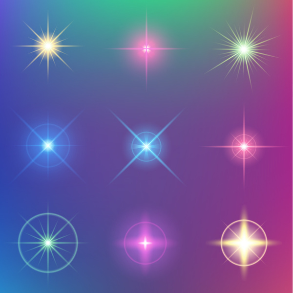 Light effect free vector download 9269 Free vector for