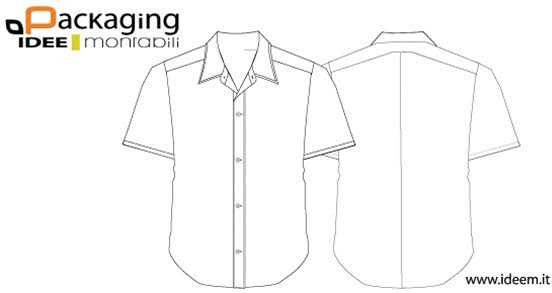 Shirt template vector Free vector in Encapsulated