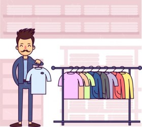 Shopping drawing man clothes display icons colored cartoon Free vector in Adobe Illustrator ai ai format Encapsulated PostScript eps eps format format for free download 2 34MB