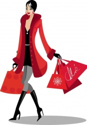 Shopping icon elegant modern lady sketch cartoon character Free vector in Adobe Illustrator ai ai vector illustration graphic art design format format for free download 921 51KB
