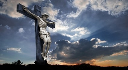 sky cross and jesus39 highdefinition picture