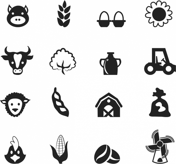 Agriculture vector free vector download (312 Free vector