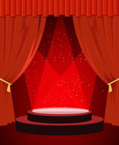 Stage Backdrop Free Vector Download 7714 Free Vector