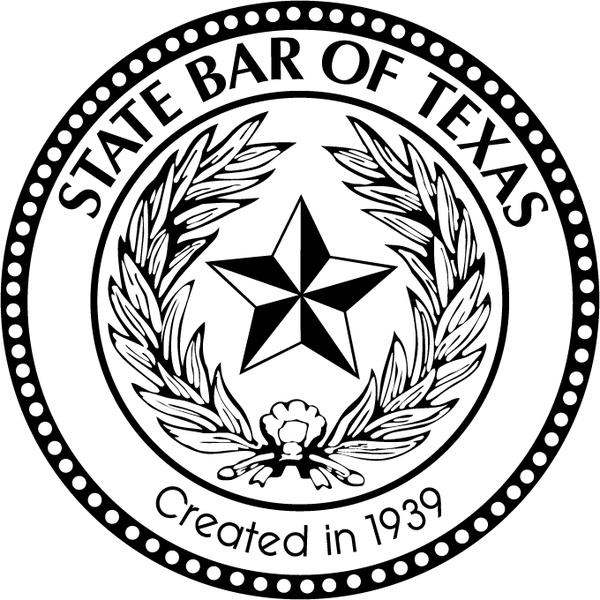 State bar of texas Free vector in Encapsulated PostScript