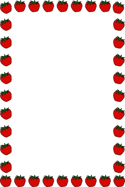 Car Wallpapers Opst Strawberry Border Clip Art Free Vector In Open Office